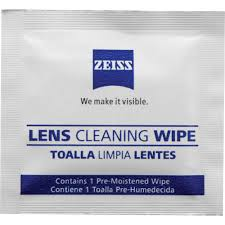 Lens Cleaning WIPES by Zeiss – 50 pack